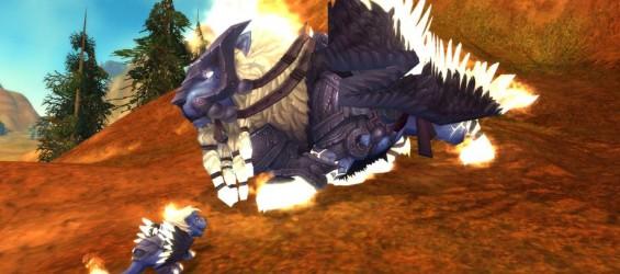 Новый питомец в World of Warcraft