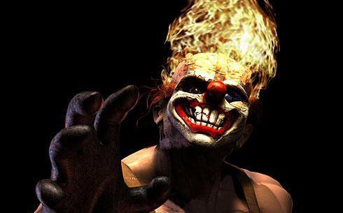 Twisted Metal – Это сумасшедшая баталия гонок с безумным клоуном у руля.