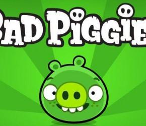 Bad piggies – поросята учатся летать