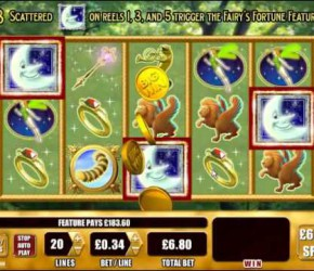 Феи Фортуны – новый игровой автомат от WMS Gaming